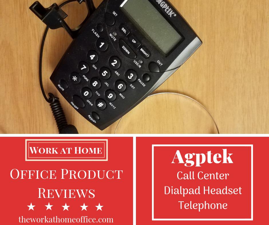 AGPtEK Dialpad Headset Telephone Review
