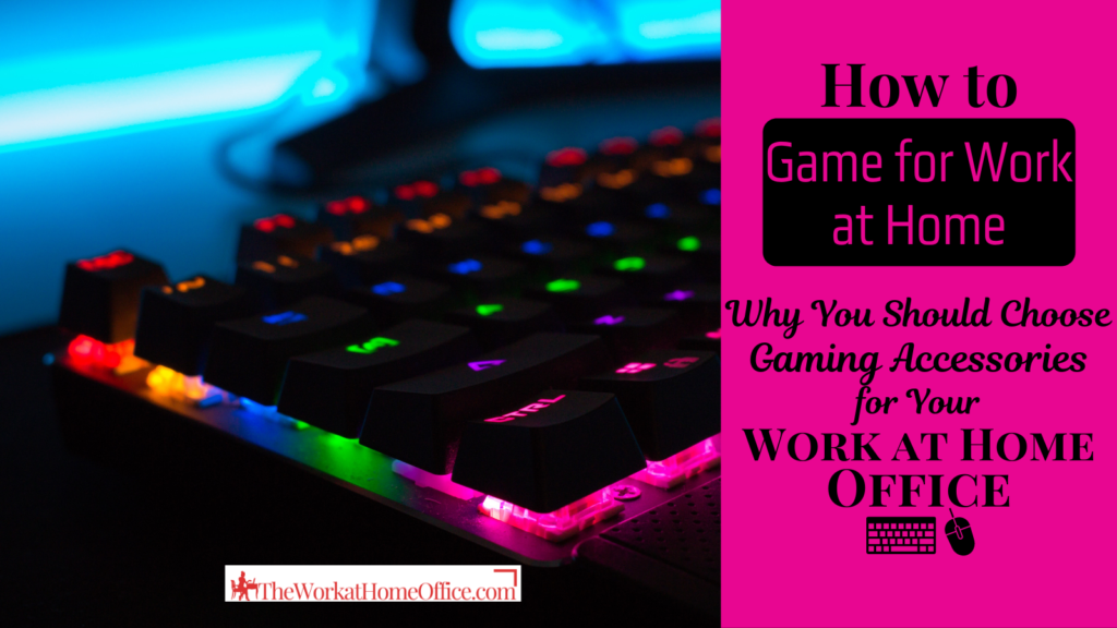 Quick Tip: How to Game for Work